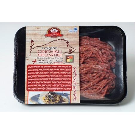 Macinato Di Cinghiale 500 gr Carne Italiana 100% allevata in Italia