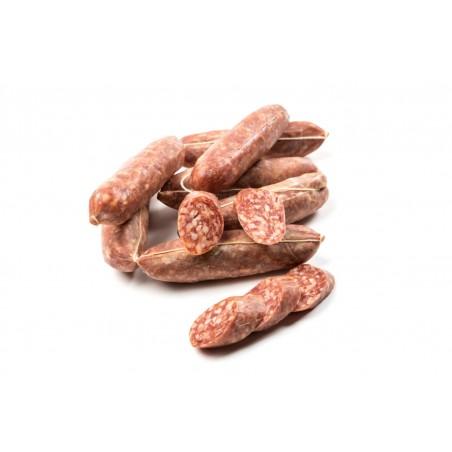 Salsiccia Stagionata Piccante 500 gr Salume Abruzzese Artigianale